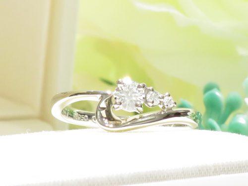 輪ファミリーの婚約指輪|IMG_2380