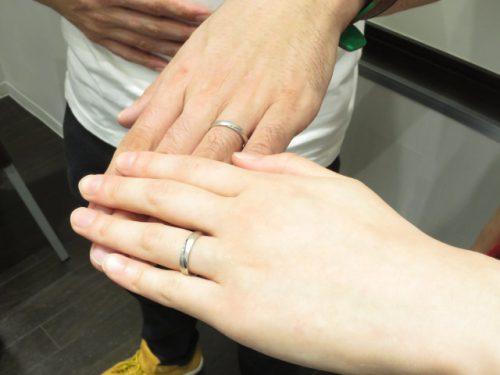 輪ファミリーの結婚指輪|img_3108