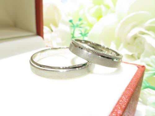 輪ファミリーの結婚指輪|img_3109