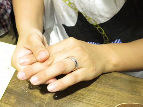 お客様の結婚指輪|img_3599