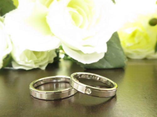 お客様の結婚指輪|img_4142