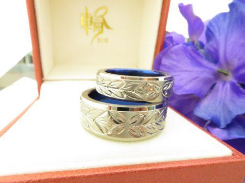 お客様の結婚指輪|img_4348