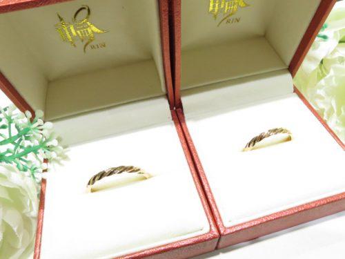 輪ファミリーの結婚指輪|img_4359