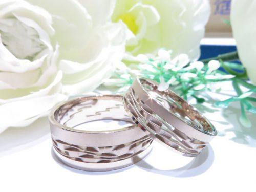 輪ファミリーの結婚指輪|img_4476