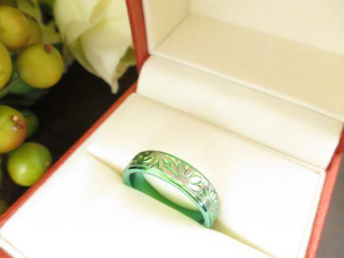 お客様のプレゼント・結婚指輪|img_4755