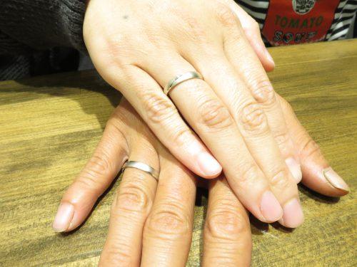 輪ファミリーの結婚指輪|img_5555