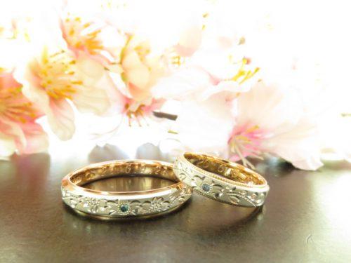 お客様の結婚指輪|img_5932