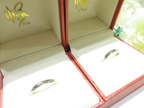 輪ファミリーの結婚指輪|img_5976