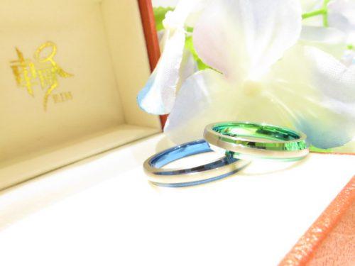 輪ファミリーの結婚指輪|img_6359