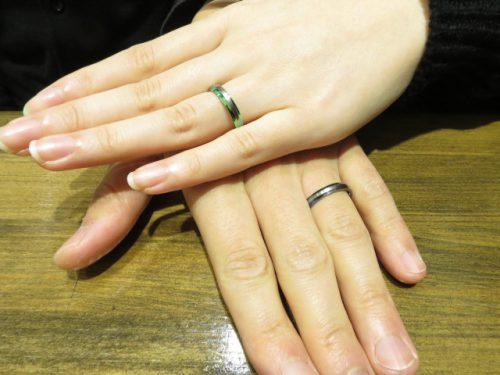 輪ファミリーの結婚指輪|img_6391
