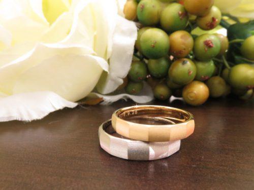 お客様の結婚指輪|img_6519