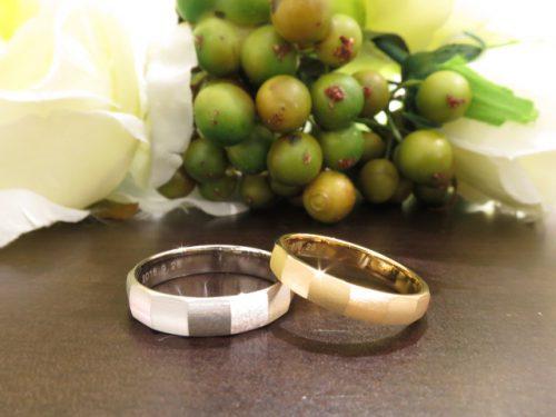 お客様の結婚指輪|img_6523