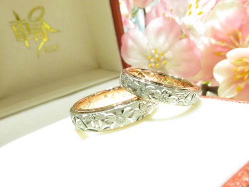 輪ファミリーの結婚指輪|img_6542