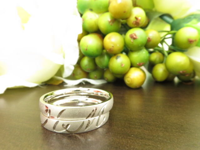 お客様の結婚指輪|img_6640