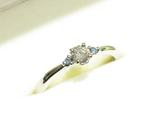 輪ファミリーの婚約指輪|img_6741