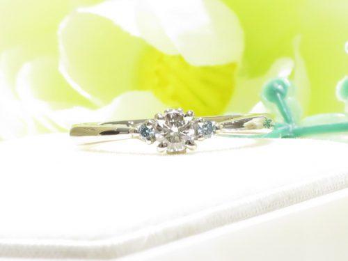 輪ファミリーの婚約指輪|img_6742