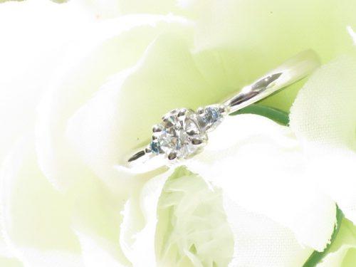 輪ファミリーの婚約指輪|img_6744