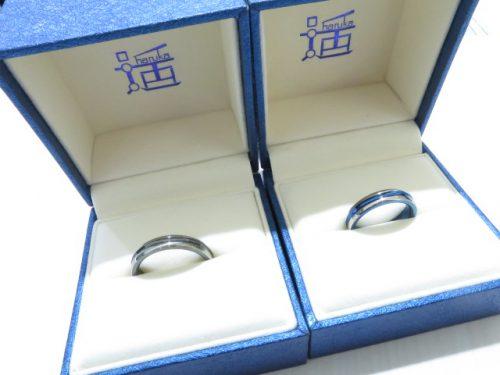 輪ファミリーの結婚指輪|img_7456