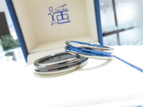 輪ファミリーの結婚指輪|img_7457