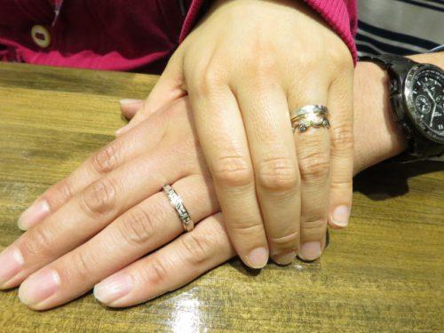 輪ファミリーの婚約指輪結婚指輪|img_7888