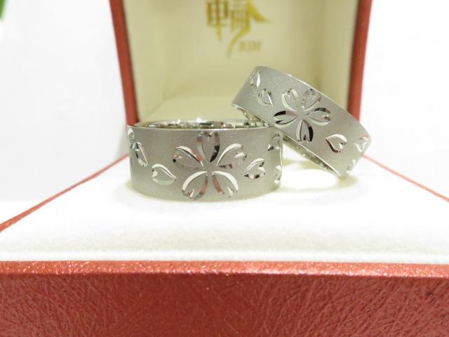 輪ファミリーの結婚指輪|IMG_9396