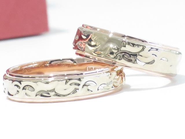 輪ファミリーの結婚指輪|IMG_9871