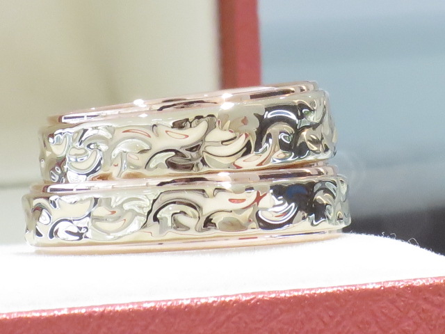 輪ファミリーの結婚指輪|IMG_9872