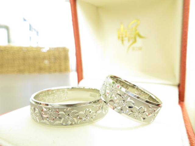 お客様の結婚指輪|IMG_0889