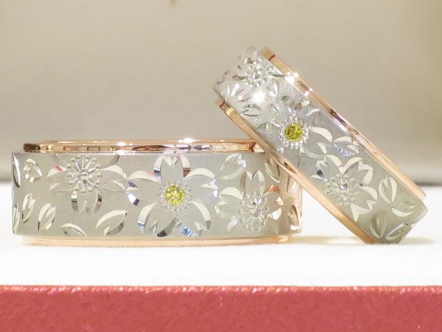 輪ファミリーの結婚指輪|IMG_4756