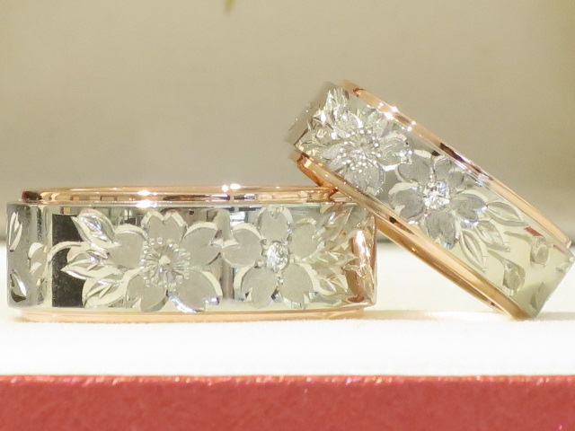 輪ファミリーの結婚指輪|IMG_4758