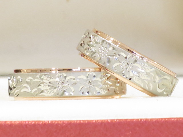 輪ファミリーの結婚指輪|IMG_5430