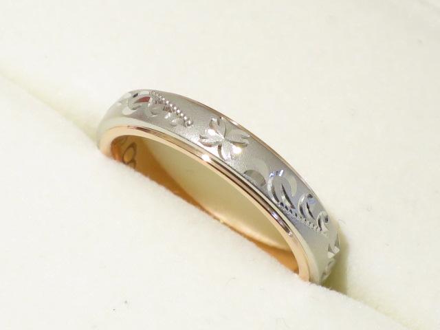 輪ファミリーの結婚指輪|IMG_9780