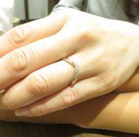 輪ファミリーの結婚指輪|IMG_1579