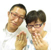 輪ファミリーの結婚指輪|IMG_2516