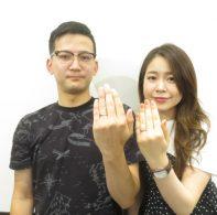 輪ファミリーの手作り結婚指輪|IMG_1656