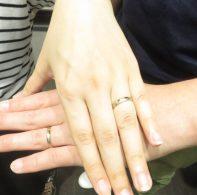 輪ファミリー結婚指輪|IMG_2029