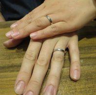 輪ファミリーの結婚指輪|IMG_2070