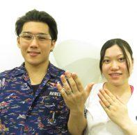 輪ファミリーの結婚指輪|IMG_2426