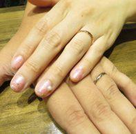 輪ファミリー結婚指輪|IMG_3331