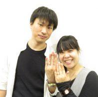 輪ファミリーの結婚指輪|IMG_3442