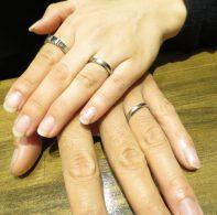 輪ファミリーの結婚指輪|IMG_3649