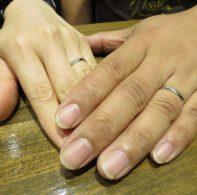 プラチナ、結婚指輪|IMG_3779