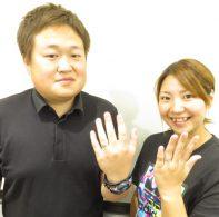 輪ファミリーの結婚指輪|IMG_3785