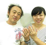 輪ファミリー結婚指輪|IMG_4020