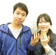 輪ファミリーの結婚指輪|IMG_4148