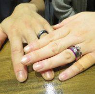 輪ファミリーの結婚指輪|IMG_4340
