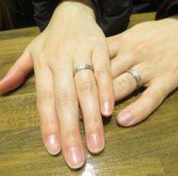 輪ファミリーの結婚指輪|IMG_5201