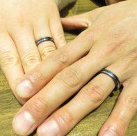 ジルコニウム結婚指輪|IMG_6252