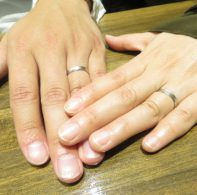 プラチナ結婚指輪|IMG_6686