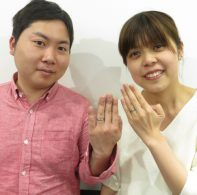 輪ファミリーの結婚指輪|IMG_6659